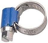 Aparoli 841438 Lot de 10 colliers de serrage à vis sans fin Original ABA 8-12 mm largeur 9 mm (Bleu) (Import...
