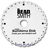 Kumihimo–BeadSmith Lot 10,8cm tressage rond Disque–Plus Instructions