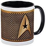 CafePress–Star Trek–Unique Mug à café, tasse à café, tasse à thé, White/Black Inside, Small