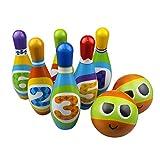 MaMiBabys Enfants Bowling Jeu De Jeu, Foam Ball Jouet Cadeaux, Éducatifs, Développement précoce