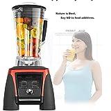 Xbnmw Mélangeur à Poser sur Le comptoir pour Smoothies, Glaces et Fruits surgelés, avec Base Auto-IQ de 2...