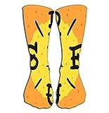 Chaussettes hautes Outdoor Sports Men Women High Socks Stocking surfing surf themed print design hand drawn...
