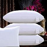 Unimall 1xOreillers 48x74cm 100% de coton hypoallergénique Microfibre des oreillers de lit d'oreiller de...