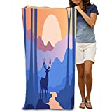 Unisex Beach Towels Bath Towels For Teen Girls Adults Travel Towel Washcloth 31x51 Inches beautiful scene...