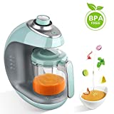 Robot culinaire MaxKare pour bébé avec cuiseur vapeur 5 en 1 pour bébé et mélangeur avec cuisson à la...