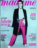 MADAME FIGARO du 04/02/2012 - PRIX BEAUTE STARS - LE STYLE THATCHER VU PAR LES ANGLAISES - MODE - DESSOUS...