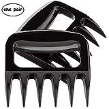 GSYJSM Ours Paws destructeur des Outils de Coupe de Griffes de la Viande pour Barbecue (Noir) Lot de 2