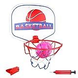 Panier de Basket Hoop Basket-Ball avec Mini Basketball Pompe Jeux de Loisirs Sports Intérieur Bureau pour...