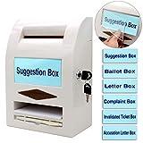 Boîte à suggestions, boîte de Don, boîte aux Lettres, boîte de commentaire, Verrouillage et Stylo pour...