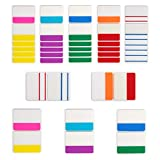 Funhoo 1000 Pcs Onglets d'index Autocollant, 2' Marqueurs de Page Colorés Memo Étiquettes en Papier pour...