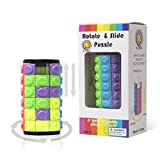 R.Y.TOYS Cylinder Puzzle Cube Magique Jeu de Puzzle pour Adultes Cube de Vitesse Jeux de réflexion pour...