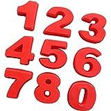 Aaasue Grand Nombre de silicone Moule à gâteau, Moule anniversaire anniversaire numéro 0–8gâteaux,...
