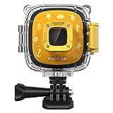 Dragon Touch Caméra Sport Enfant 1080P Full HD 30m Etanche sous-Marine avec Batterie Rechargeable, 3 Jeux,...