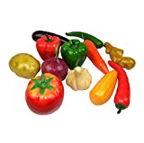 Ensemble de 12 légumes artificiels / émulatoires Play Food Set Décoration Props, # 01
