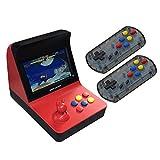 LbojailiAi A8 3000 en 1 Classic Arcade Game Console Machine de Jeu d'extension pour Cartes TF Rouge