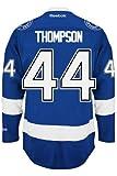 Nate Thompson Tampa Bay Lightning Reebok Premier Home Jersey NHL Réplique, mixte femme Fille Enfant Homme,...
