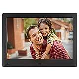 NIX Advance - Cadre numérique 10 Pouces écran Large pour Photos et vidéos HD (720p) avec capteur de...