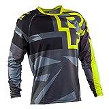 YGQersh T-Shirt de Cyclisme en Plein air pour Motocyclette de vélo de Cyclisme en VTT Jersey Unisexe - Vert...