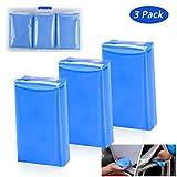 Tencoz 3Pack Argile de Nettoyage de Voiture, Bar Clay Kit de Nettoyage Voiture Magic Kit Clay Bar Cleaner 3 x...