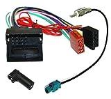 Câble adaptateur faisceau autoradio antenne pour Citroen Berlingo C2 C3 Pluriel C4 Picasso C5 C6 C8 Jumpy...