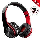 Casque Bluetooth Sans Fil, Macrourt Casque Audio Pliable Fonction 4-en-1, Micro Intégrée Bluetooth, Radio,...
