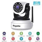 Caméra IP WiFi,Caméra Surveillance WiFi,Bagotte Caméra de Sécurité sans Fil avec Vision...