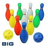 Bowling Jeu de 10 Bowling et 2 Bowling Ball Jeu extérieur Garden Family Society pour les enfants de 3 ans et...