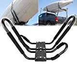 Ambienceo 1 Pair Supports de Camion de Voiture Universel Support de Toit Toit Support de Kayak Planche Support...