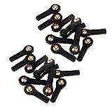 Générique Sharplace 20 Pièces Connecteur A Rotule Universel M2 Standard Pieces Detachees pour Modele Rc