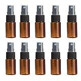 MSYOU Lot de 10 Mini flacons pulvérisateurs pour huiles essentielles, Parfum et Produits de Soins de la Peau...