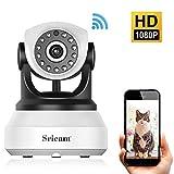 Caméra IP Sans fil, Sricam Wifi Caméra Surveillance Détection de Night Vision, 2 Voies Audio, Alerte de...