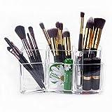 Organisateur de Maquillage – Meersee Rangement en Acrylique cosmétiques Organisateur Pour Pinceaux à...
