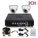 YAOkxin 720p / 1080p dôme caméra réseau vidéo sécurité système de Surveillance Lecture Intelligente...