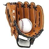 Gants de baseball Lazy Puppy pour sports &activités de plein air. Gants de lanceur avec une balle de softball...