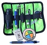 Geo de Livraison 11pièces Geocaching débutant Basic avec étui, Multicolore, 20x 10x 15cm/One Size