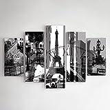 Feeby Frames, Tableau Multi Panneau 5 Parties, Tableau imprimé XXL, Tableau imprimé sur Toile, Tableau Deco,...