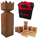Viking Kubb Garden Game Hardwood in Canvas Bag As Seen on BBC by Classic Leisure Products