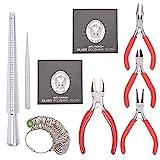 Pandahall Elite- Kits d'Outils pour DIY Bijoux avec Pince pour Bijoux Pince Coupante Pince à épiler et...