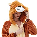 ABYED Adulte Unisexe Anime Animal Licorne Costume Cosplay Combinaison Pyjama Outfit Nuit Vetements Onesie...