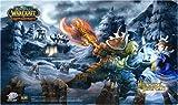 Upper Deck - Jeu de Cartes à Collectionner - World Of Warcraft - Héros D'Azeroth - Tapis De Jeu
