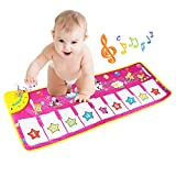 Tapis musical, BelleStyle Baby Musical Piano Tapis de jeu Tapis de jeu Musical Instrument Touch Jeu Clavier...
