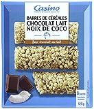 CASINO Barres de Céréales Chocolat au Lait Noix de Coco