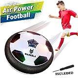Air Power Football – Maxesla Hover Football avec Lumière LED Colorée, Pare-chocs en Mousse Formation...