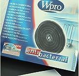 Whirlpool Extracteur Actif Filtre Carbone Hotte Cuisinière Type D180 CHF180/B 205gram