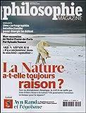 Philosophie Magazine N 94 la Nature a-T-Elle Toujours Raison ? Nov.2015