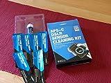 VSGO Kit de Nettoyage pour le capteur de l'appareil photo APS-C - 6 à 12 nettoyages - 12x 16mm Swab - Sans...