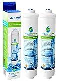 2x AquaHouse AH-UIF Compatible Filtre à eau universel pour réfrigérateur Samsung LG Daewoo Rangemaster Beko...