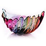 Plaque de fruits en verre sans plomb Créative vitrail Fruit de la feuille de fruits à la mode Panier de...