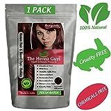 The Henna Guys - Teinture Henné Cheveux et Barbe - Rouge - 100 grammes