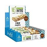 HEJ Natural Bite Noix de Coco Biologique - Barre aux noix Bio - Sans sucre ajouté - Barre énergétique -...